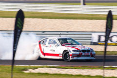 BMW drift car stock photo