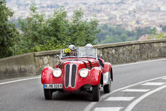 BMW 328 driven by Bender Hans-Joachim Stock Photos