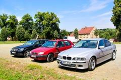 BMW E39 5 серий Стоковые Фото