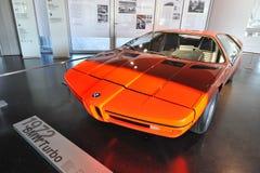 BMW E25涡轮作为1972个夏季奥运会的一次庆祝被制造的概念汽车 图库摄影
