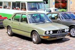 BMW E12 528 Lizenzfreie Stockbilder