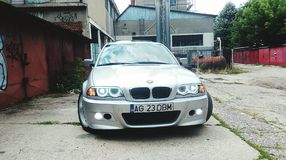 BMW e46 库存图片