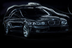 Bmw e39 Stock Photography
