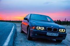 BMW E39 520i Zdjęcia Royalty Free