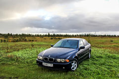 BMW E39 520i Стоковое Изображение RF