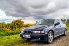 BMW E39 520i Stock Photo