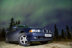 BMW E39 520i Stock Photos