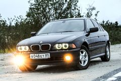 BMW E39 520i Stock Photos