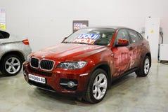 BMW X6 E71 nel ` dell'Expo del croco del `, 2012 Immagine Stock