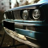 BMW E30. Old and beautiful BMW E30 118760830 Royalty Free Stock Photography