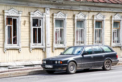 BMW E34 5 reeksen Royalty-vrije Stock Afbeeldingen