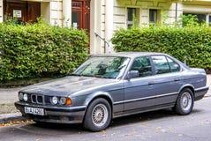 BMW E34 5 séries Images libres de droits