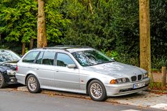 BMW E39 5 serie Fotografering för Bildbyråer