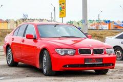 BMW E65 7 serie Royaltyfri Fotografi