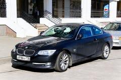BMW E92 3 serie Fotografering för Bildbyråer