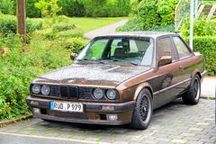 BMW E30 3-series Stock Photo