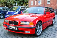 BMW E36 3-series Stock Image