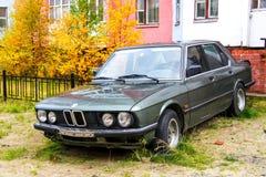 BMW E28 5-series Royalty Free Stock Photo