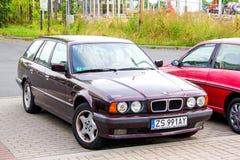 BMW E34 5-series Stock Photo
