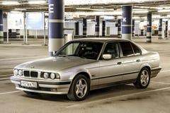 BMW E34 5-series Royalty Free Stock Photos