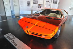 BMW E25 Turbo concept car built as a celebration for 1972 Summer Olympics Stock Photography