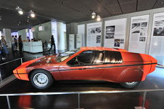 BMW E25 Turbo concept car built as a celebration for 1972 Summer Olympics Stock Images