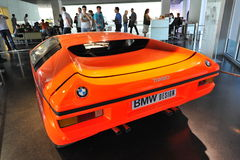 BMW E25 Turbo concept car built as a celebration for 1972 Summer Olympics Royalty Free Stock Image
