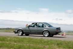 BMW E24 6er Stock Photo