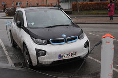 BMW ELECTRIC CAR Stock Photo