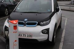 BMW ELECTRIC CAR Royalty Free Stock Photos