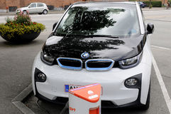 BMW ELECTRIC CAR Stock Photography