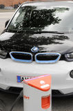 BMW ELECTRIC CAR Royalty Free Stock Image