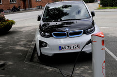 BMW ELECTRIC CAR Royalty Free Stock Images