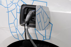 BMW ELECTRIC CAR Stock Images
