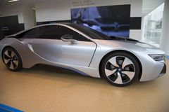 BMW electric vehicles Stock Photos