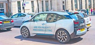 BMW-elektrisches Auto Stockbilder