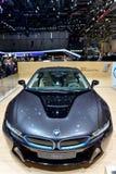 BMW en la Ginebra 2014 Motorshow fotografía de archivo libre de regalías