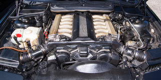 Bmw 850 engine Stock Photo