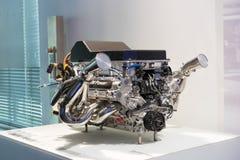 BMW engine stock image