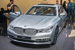 BMW 7er Fotografie Stock Libere da Diritti