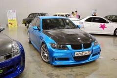 BMW 3er E90 nel ` dell'Expo del croco del `, 2012 Immagine Stock Libera da Diritti