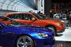 BMW exhibit Royalty Free Stock Image