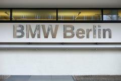 BMW försäljningar Berlin Arkivbild