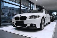 BMW 5表现(F10) 免版税库存图片