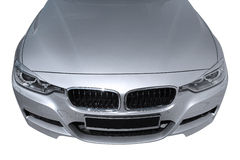 BMW 3 (F30) front view Royalty Free Stock Photo