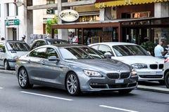 BMW F06 Gran för 6 serie kupé Royaltyfria Bilder
