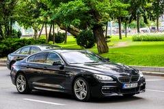 BMW F06 Gran för 6 serie kupé Fotografering för Bildbyråer