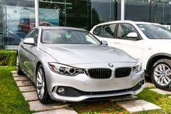 BMW F36 Gran för 4 serie kupé Fotografering för Bildbyråer