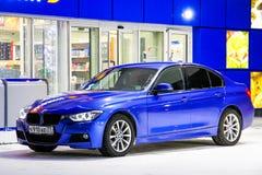 BMW F30 3 reeksen Royalty-vrije Stock Afbeeldingen