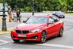 BMW F34 3 serie GT Royaltyfri Foto